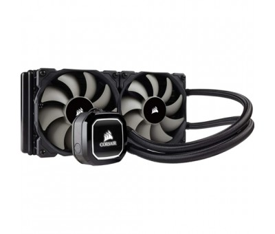 Corsair CW-9060040-WW H100X 240mm Sıvı CPU Soğt.