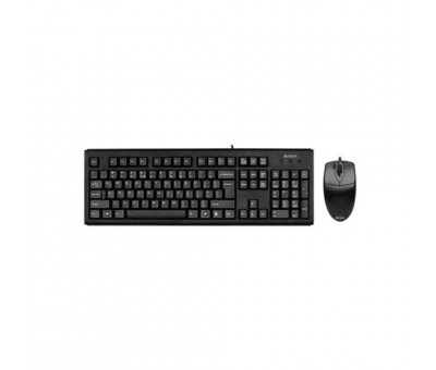 A4 Tech KM-72620D Klavye Mouse Set / Siyah / USB