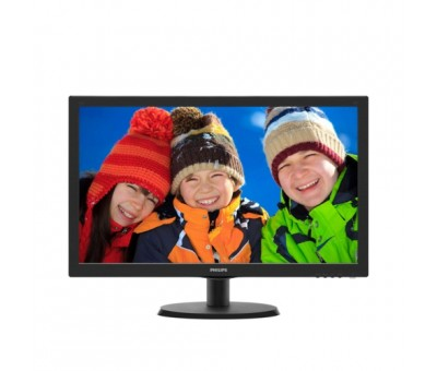 Philips 21.5 223V5LHSB2/01 LED Monitör 5ms Siyah