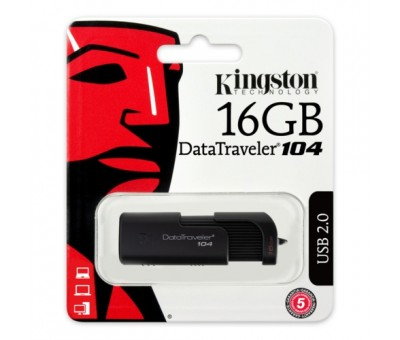 Kingston 16GB USB2.0 Memory Plastik DT104/16GB