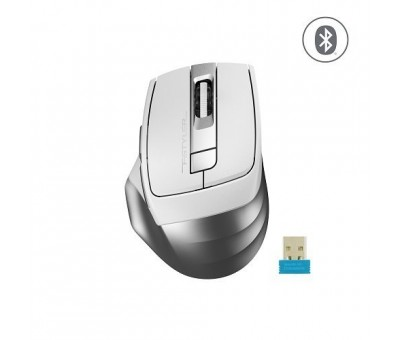 A4 Tech FB35 Beyaz 2000 DPI 6 Tuş Optik 2.4G/Bluetooth Kablosuz Mouse