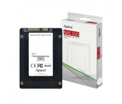 "Apacer 256 GB PPSS25-R 2,5"" 550-490 MB/s NAS SSD"