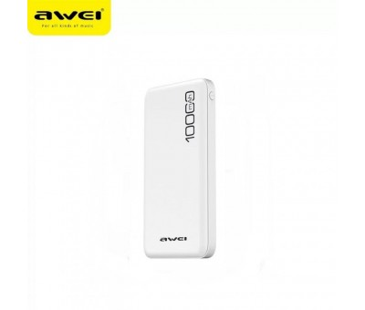 Awei P28K - Beyaz 10.000 mAh Power Bank