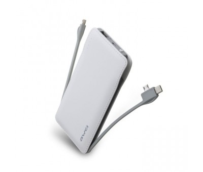 Awei P51K 10,000 mAh Power Bank Beyaz