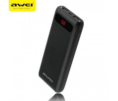 Awei P70K - Siyah  20000mAh Power Bank