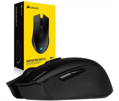 Corsair Harpoon RGB Wireless CH-9311011-EU 10000 DPI 6 Tuş Optik RGB Kablosuz Gaming (Oyuncu) Mouse