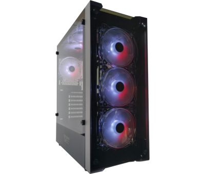 DarkFlash Skywalker RGB Mid Tower Kasa PSU YOK