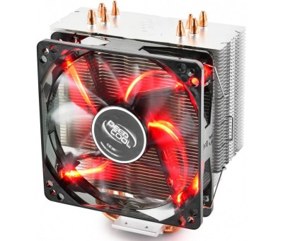 Deep Cool Gammaxx 400 Red V2 120mm CPU Fan