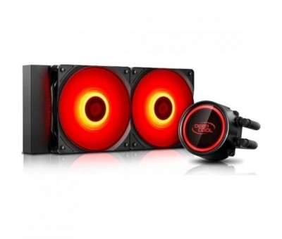 Deep Cool Gammaxx L240T-RED 240mm Sıvı CPU Soğt.