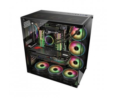 GamePower WARCRY ATX 6*ARGB Sessiz Fan 650W 80+ Bronz Dahili PSU'lu Temper Cam Gaming Kasa