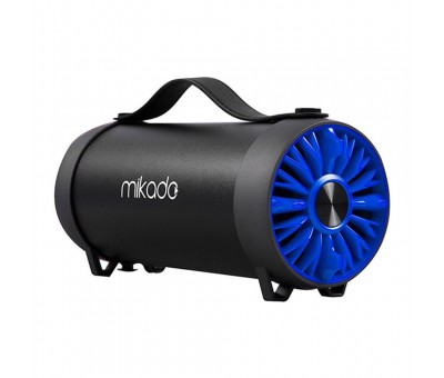 Mikado MD 54BT Usb FM Destekli 3W 10W Bluetooth Speaker Mavi