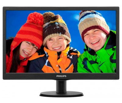 "Philips 193V5LSB2/10 18.5"" 5ms (Analog) Led Monitör"