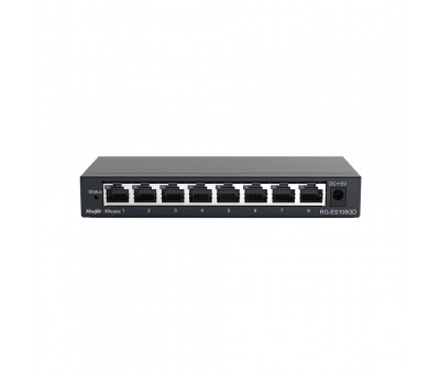 Reyee RGES108GD 8Port Gigabit Switch Çelik kasa
