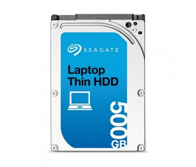 "Seagate Laptop Thin HDD 500GB 2.5"" 5400RPM Sata 3.0 16Mb ST500LT012 Notebook Disk"