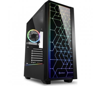 Sharkoon RGB-LIT-100 ATX Midi Tower Kasa