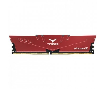 Team T-Force Vulcan Z 8GB (1x8GB) DDR4 3200MHz CL16 Kırmızı Gaming Ram