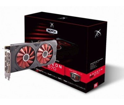 XFX AMD Radeon RX 570 RS XXX Edition 8GB GDDR5 256Bit DX12 Gaming Ekran Kartı